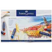 Faber-Castell Creative Studio Oil Pastels Box of 36
