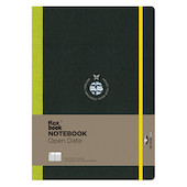 Flexbook Flex Global Notebook and Diary Large Light Green