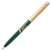 Fisher Space Pen Cap-O-Matic Apollo 11 50th Anniversary Pressurised Ballpoint Pen Green and Gold