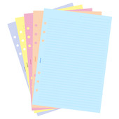 Filofax Classic Ruled Notepaper Coloured