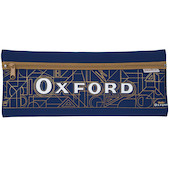 Helix Oxford Pencil Case Neoprene Blue