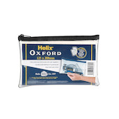 Helix Oxford Pencil Case Clear Medium