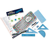Helix Oxford Splash Maths Set Blue