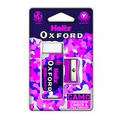 Helix Oxford Camo Eraser and Sharpener Set Pink