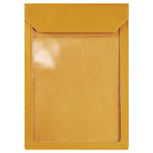 KING JIM Flatty Works A4 Pouch Vertical Yellow