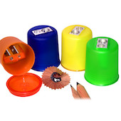 KUM POD Canister Sharpener Double Hole M2