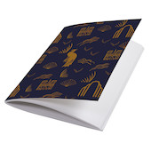 G Lalo 100 Years Sewn Spine Notebook A6 Blue