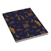 G Lalo 100 Years Notepad A6 Blue