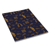 G Lalo 100 Years Notepad A5 Blue