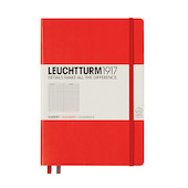Leuchtturm1917 Hardcover Notebook Medium Red
