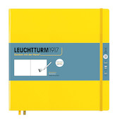 Leuchtturm1917 Sketchbook Square Lemon