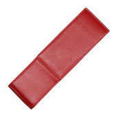 LAMY Red Nappa Leather Pen Case for Two Pens
