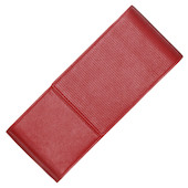 Lamy Red Nappa Leather Pen Case for Three Pens