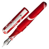 Manuscript ML 1856 Fountain Pen Red Storm