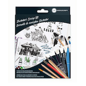 Manuscript Illustrator's Design Kit