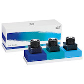 Montblanc Ink Bottle 30ml Set of 3 Blue Palette