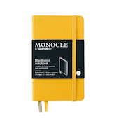 Monocle by Leuchtturm1917 Hardcover Notebook A6 Yellow