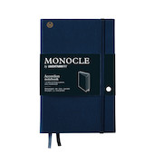 Monocle by Leuchtturm1917 Wallet/Accordion Notebook B6+ Navy
