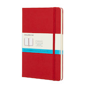 Moleskine Classic Collection Large Notebook 135x210 Scarlet Red