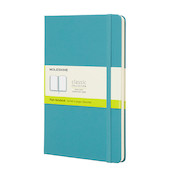 Moleskine Classic Collection Large Notebook 135x210 Reef Blue