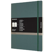 Moleskine Pro Notebook Soft Cover Extra Extra Large 216x279 Forest Green