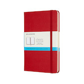 Moleskine Classic Collection Medium Notebook Scarlet Red