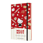 Moleskine Hello Kitty Large Notebook Limited Edition Red Ruled