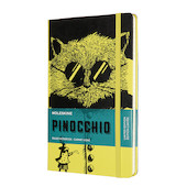 Moleskine Pinocchio Large Notebook Limited Edition The Cat Ruled