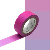 mt Washi Masking Tape - 15mm x 7m - Fluorescent Gradation Pink x Blue