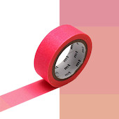 mt Washi Masking Tape - 15mm x 7m - Fluorescent Gradation Pink x Yellow