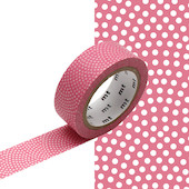 mt Washi Masking Tape - 15mm x 7m - Samekomon Momo