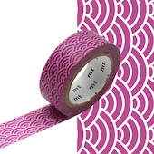 mt Washi Masking Tape - 15mm x 7m - Seigaihamon Wakamurasaki