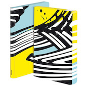 Nuuna Graphic L Smooth Bonded Leather Cover Notebook Nouvelle Vague