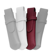 Onoto Leather Pen Pouch Burgundy