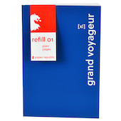 Paper Republic Grand Voyageur Paper Refill (XL) Pack of 2