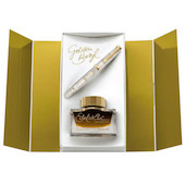 Pelikan Classic M200 Fountain Pen Special Edition Golden Beryl with Edelstein Ink of the Year Gift Set