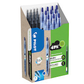 Pilot BegreeN B2P Gel Rollerball Pen Medium Pen and Refill Set Blue