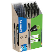 Pilot BegreeN G2 07 Gel Rollerball Pen Medium Pen and Refill Set Black