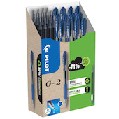 Pilot BegreeN G2 07 Gel Rollerball Pen Medium Pen and Refill Set Blue