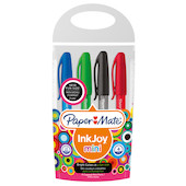 Paper Mate Inkjoy Mini Ballpoint Pen Assorted Set of 4