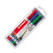 STABILO Write-4-All Marker Pen Wallet of 4