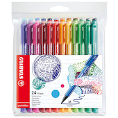 STABILO pointMax Colouring Pen Wallet of 24 Assorted