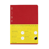 Stalogy 365Days Notebook B6 Red