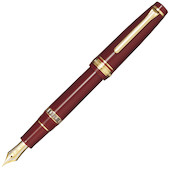 Sailor PG Realo Fountain Pen Maroon with Gold Trim