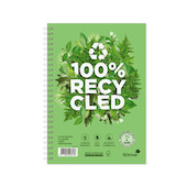 Silvine Premium 100% Recycled Twinwire Notebook A5