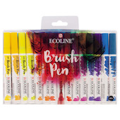 Royal Talens Ecoline Brush Pens Set of 30
