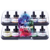 Royal Talens Ecoline Liquid Watercolour 30ml Mixing Set of 10