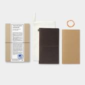 TRAVELER'S COMPANY Traveler's Notebook Leather Brown