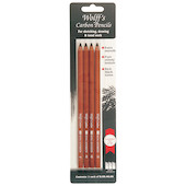 Wolff's Carbon Pencils Set of 4 Assorted