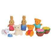 Iwako Puzzle Eraser Set Animal Park